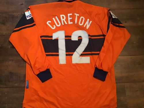 2000 2001 Reading Cureton  Player Issue Football Shirt XL